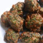 Shrimp & parsley bite