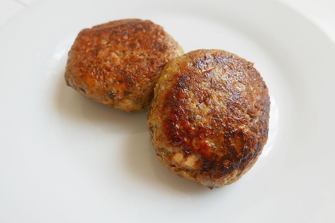 Cumin chicken burger