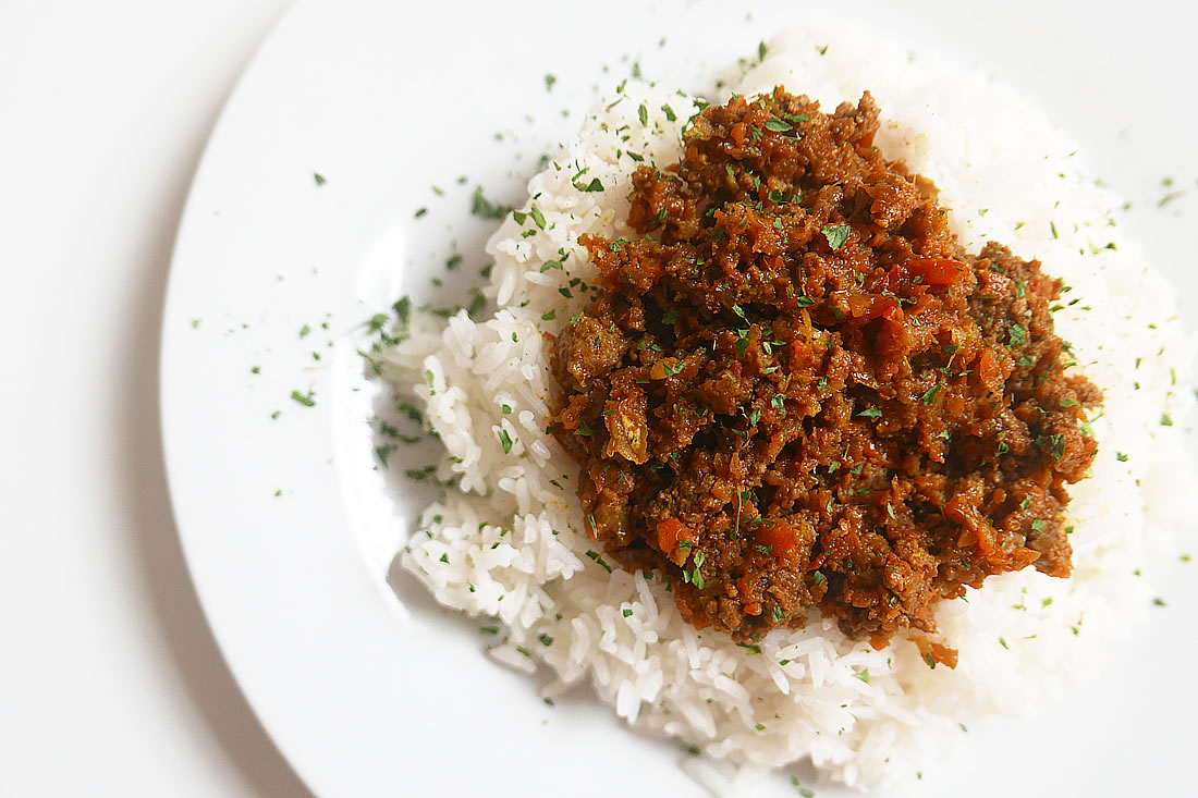Dry curry – Japanese style