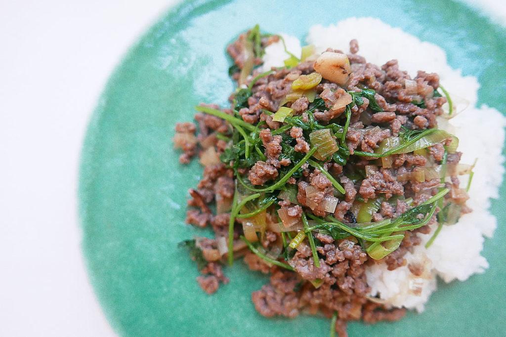 Easy asian rice