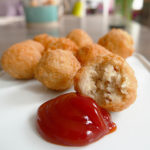 Easy fried chicken balls