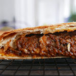 Ground beef meat pie