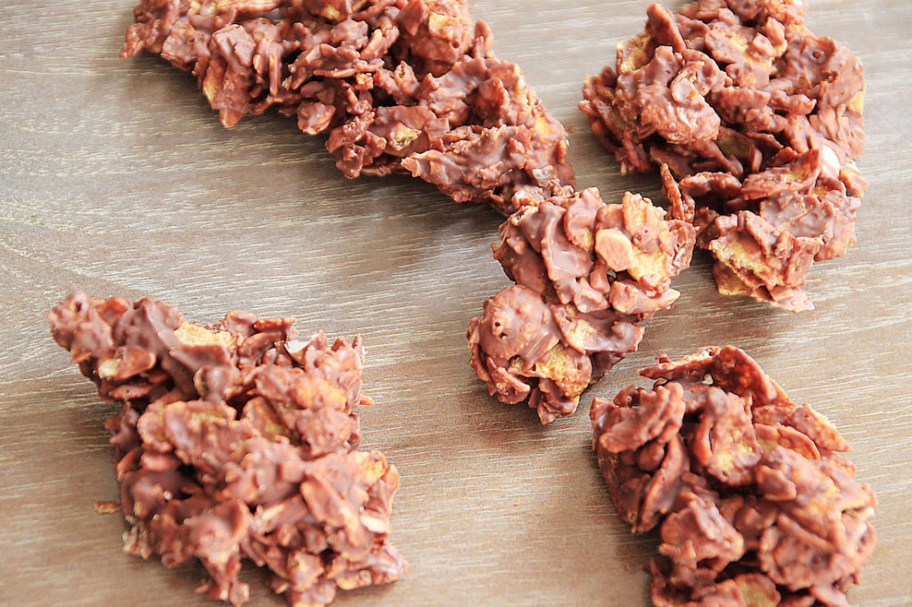 Choco Flakes' easy and quick
