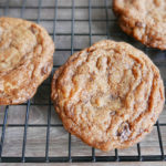 Chewy choco chip cookies – quick version