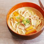 Pressure cooked Milk Curry Udon