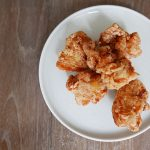 japanese-style Karaage fried chicken