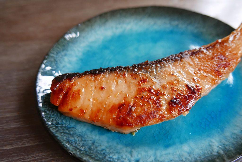 Saikyo yaki Salmon in white miso