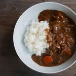 Pressure cooked Shank Beef (or just beef meat) Japanese Curry