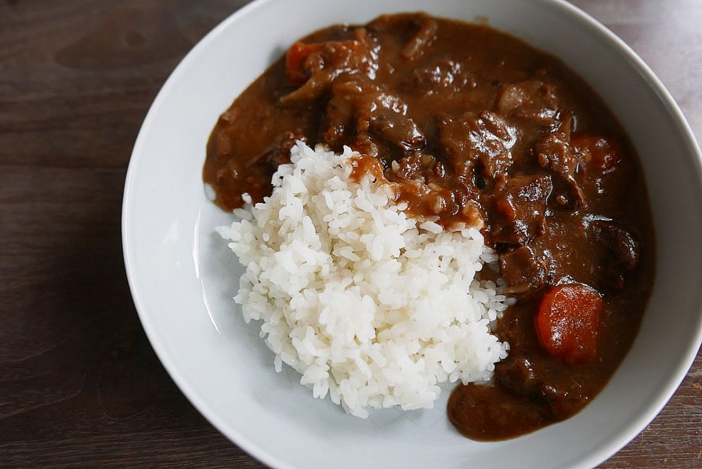 Pressure cooked Shank Beef Japanese Curry