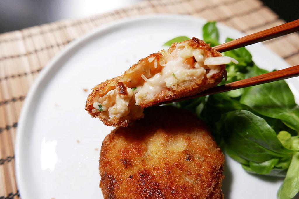Seafood Cream Croquette