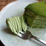 "Green Tea ""Matcha"" Mille Crepes"
