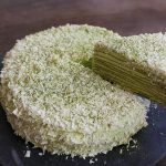 "Green Tea ""Matcha"" Mille Crepes"