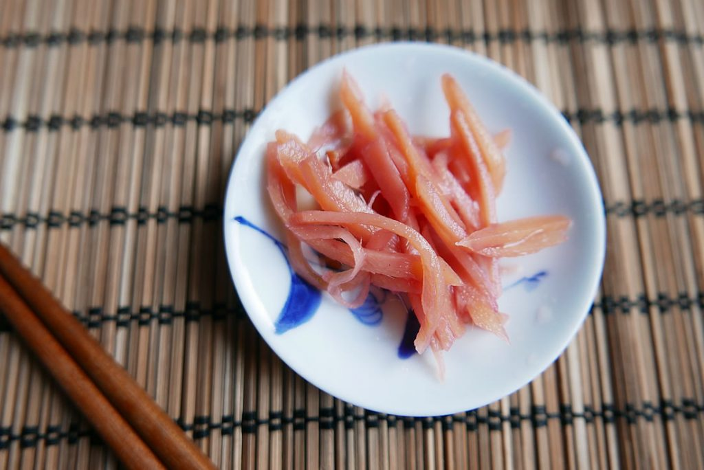 Beni Shoga Red Pickled Ginger Dans La Lune