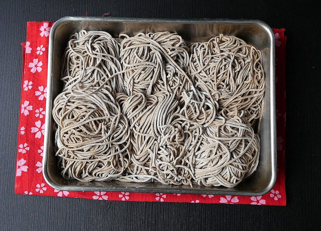 Teuchi soba with kitchenaid