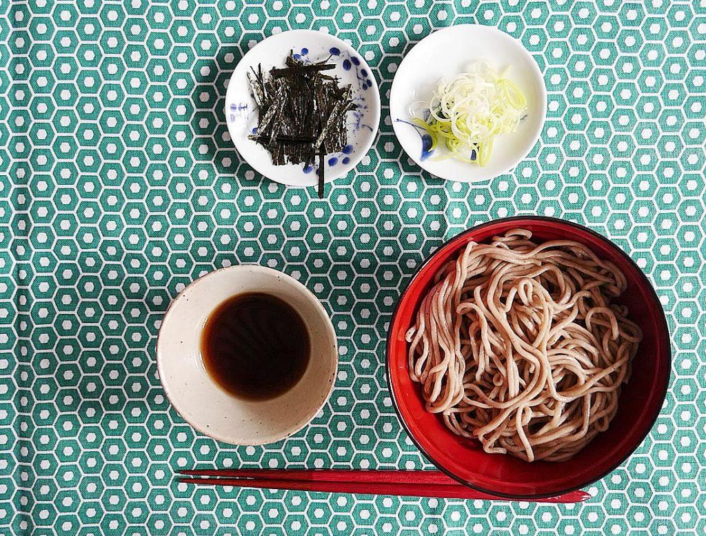 Zaru Soba - Cold Soba Noodles - buckwheat noodles