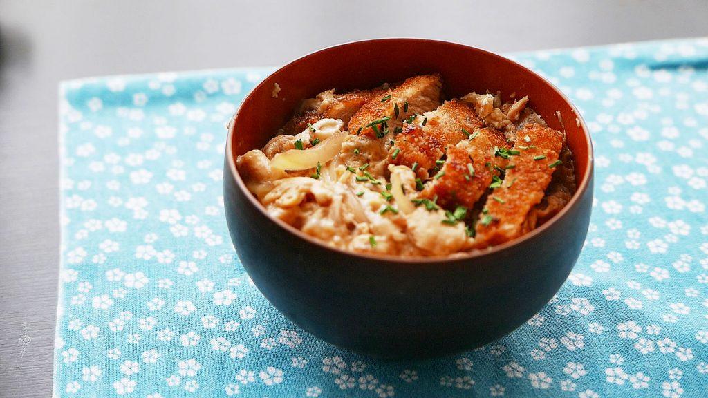 Katsudon Rice Bowl (Japanese pork cutlet)