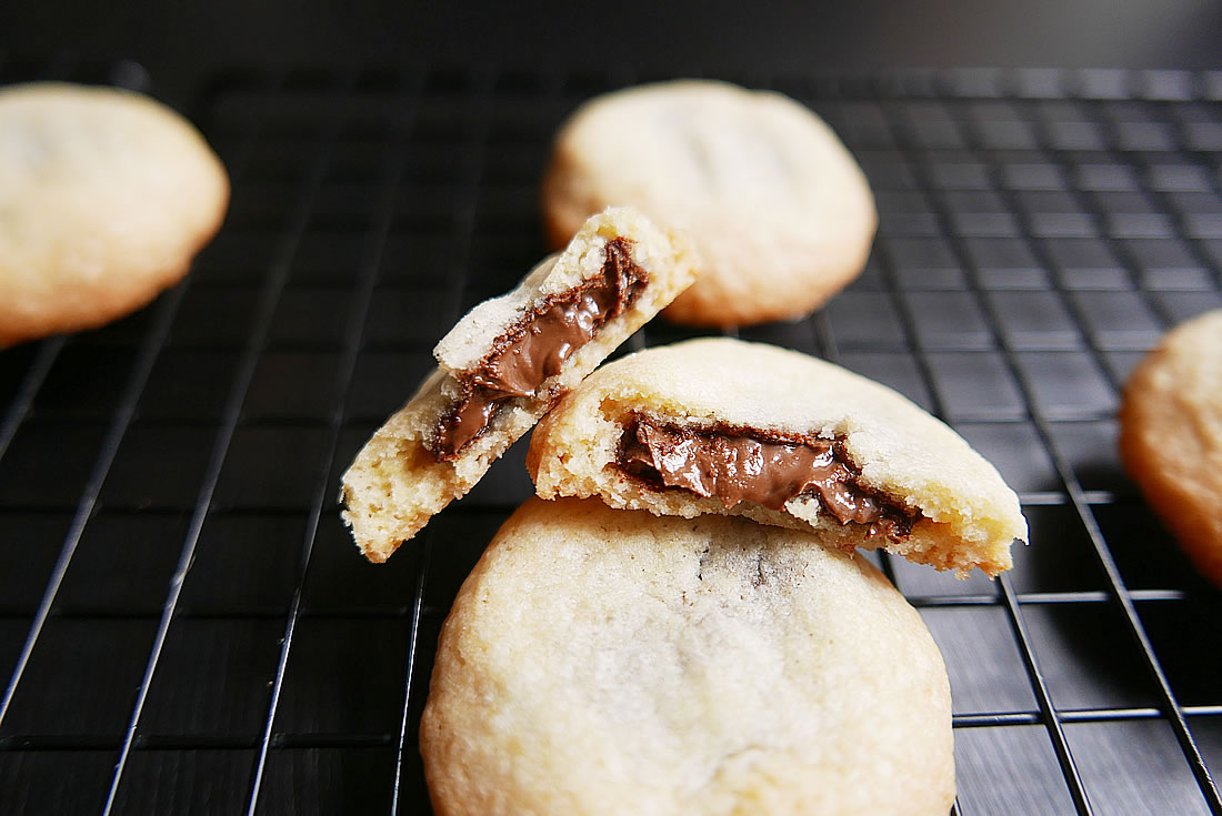 Nutella-in-Cookies