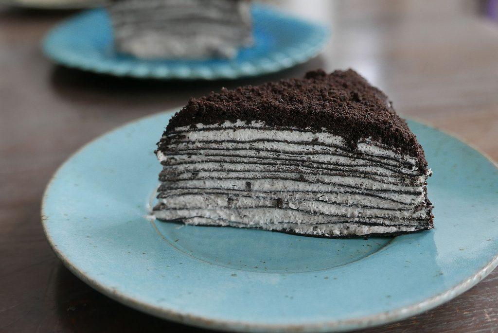 Oreo Mille Crepe Cake Dans La Lune