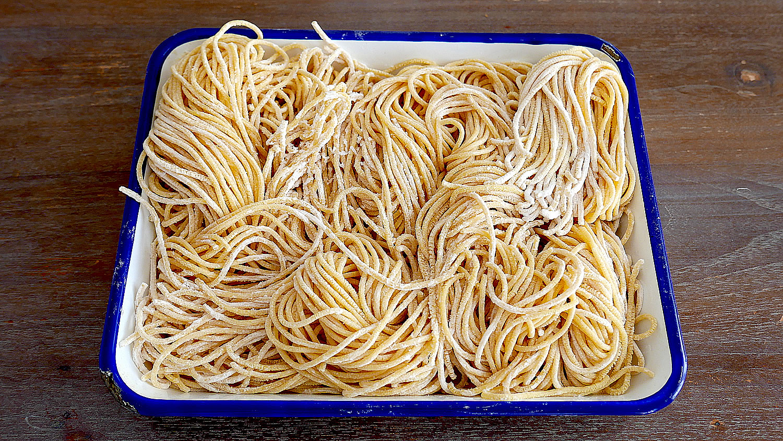 Fresh pasta with Philips Pasta Maker