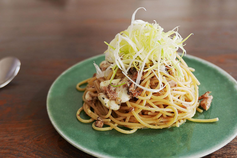 Canned Sardines Spaghetti - Recipe for 1