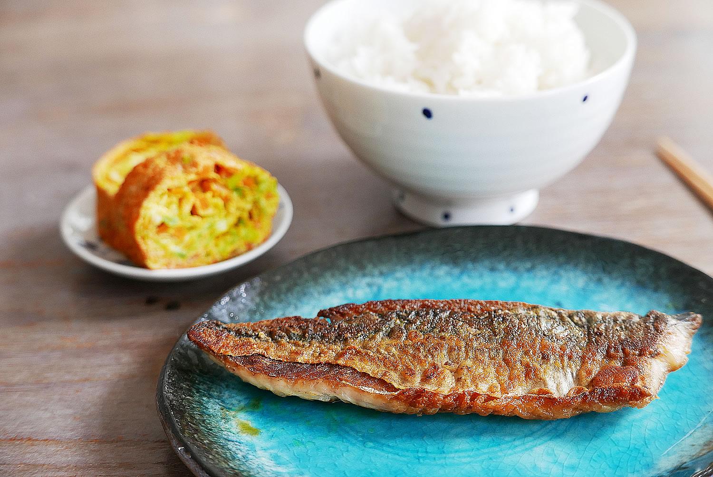 Saba Shioyaki - Recipe for 1 - Japanese Salt Grilled Mackerel