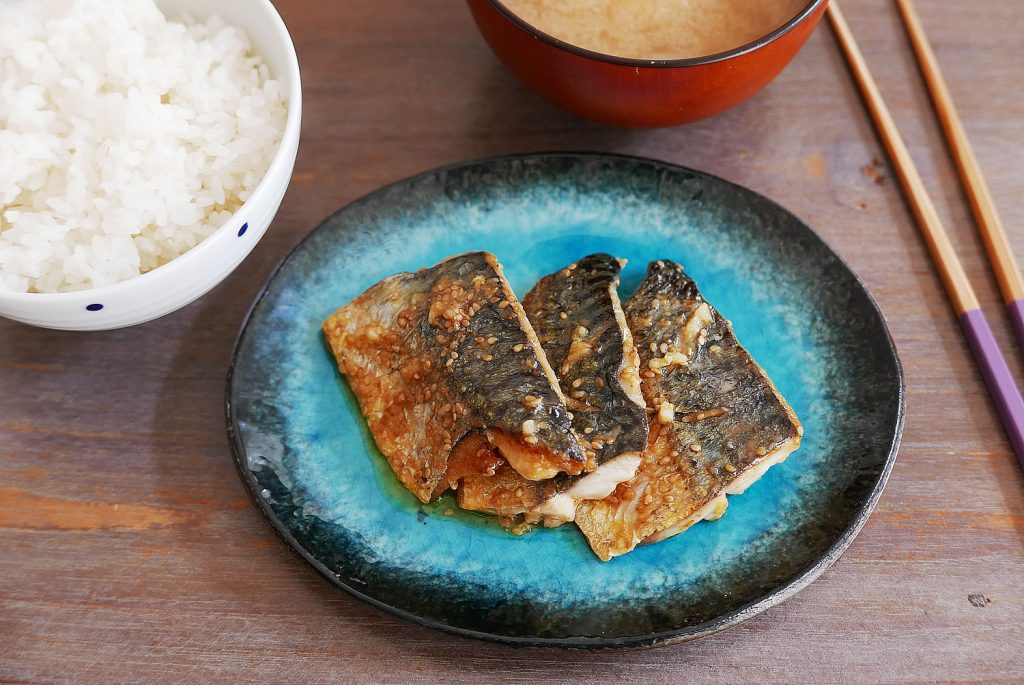 Mackerel in Sesame Mayonnaise Sauce