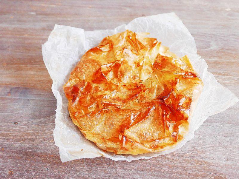 Crispy Apple Pie with Filo Pastry - Tourtière aux Pommes à la pâte filo
