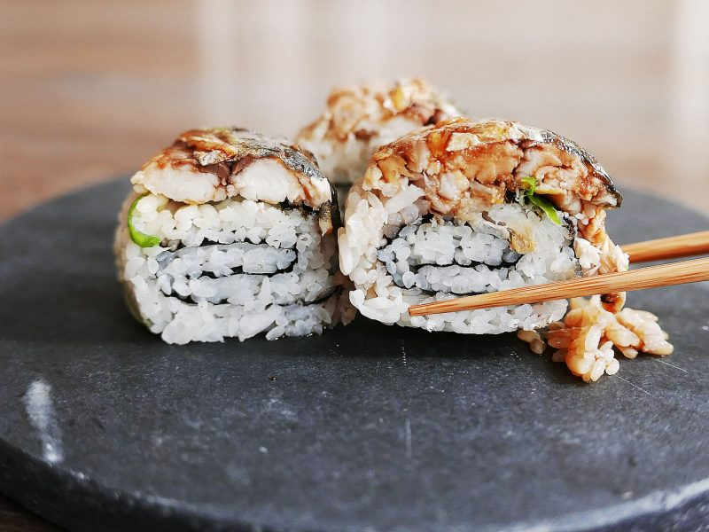 Mackerel Saba Roll - Maki Sushi Recipe